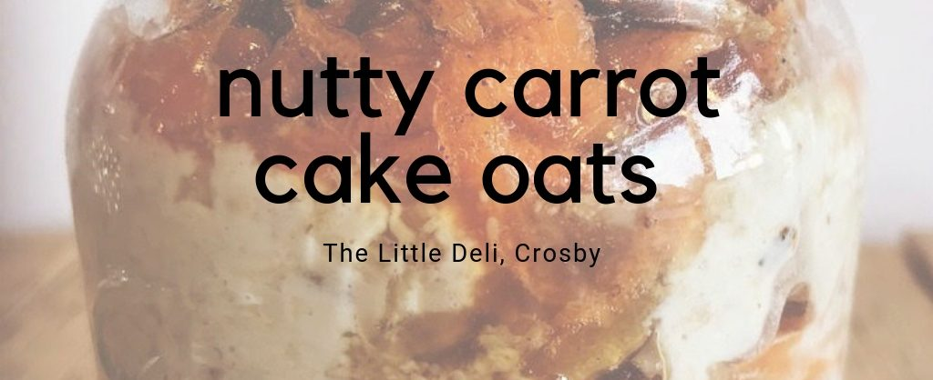 nutty carrot cake hair superfood recipe