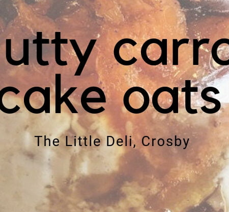 Nutty Carrot Cake Oats | Hair Superfood Recipe
