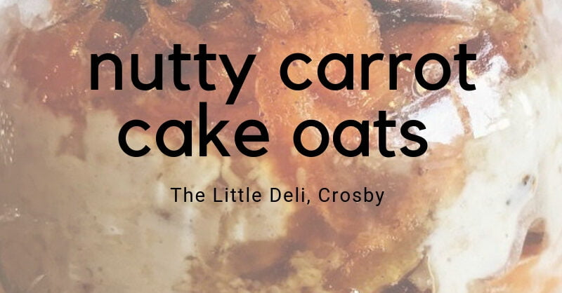 Nutty Carrot Cake Oats   Hair Superfood Recipe
