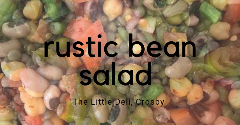 Rustic Bean Salad | Hair Superfood Recipe